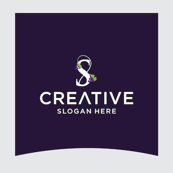 S виноградный логотип