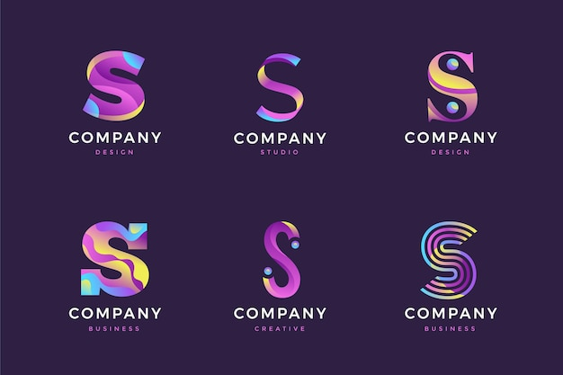 Коллекция логотипов s