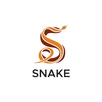 S snake logo