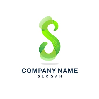 Sの文字ロゴ