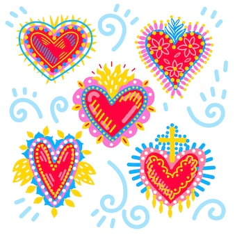 Concetto di cuore sacro