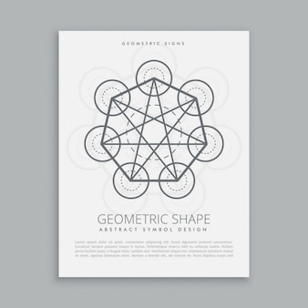 Sacred metatron poster
