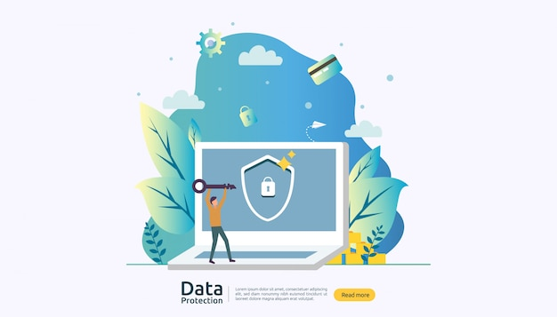 Safety network security and confidential data protection with people character