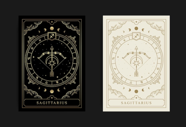 Sagittarius horoscope and zodiac symbol