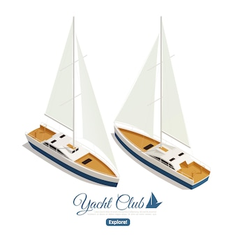 Le barche a vela vanno parallele in senso opposto