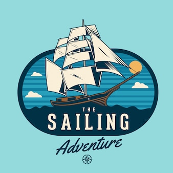 The sailing adventure