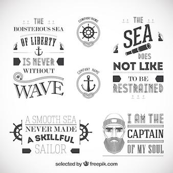 Sailor badges