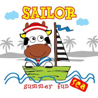 Sailor cow