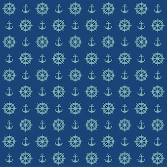 Sailor nautical pattern