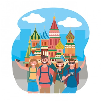 The saint basil s cathedral of moscow design