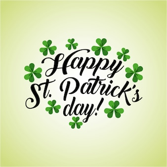 Saint patric day design