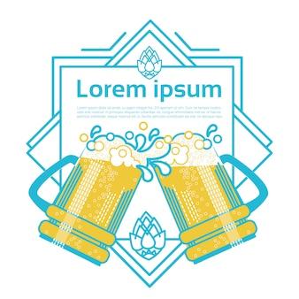 Saint patrick day beer festival design
