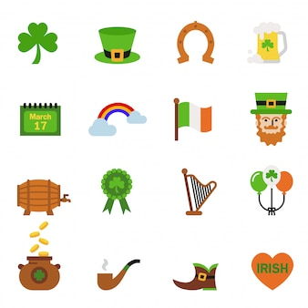 Saint patrick day holiday traditions concept