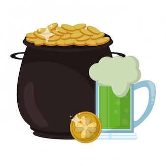 Saint patrick day irish celebration