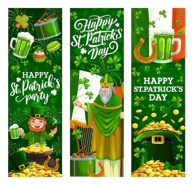 Saint patrick day, irish celtic holiday celebration
