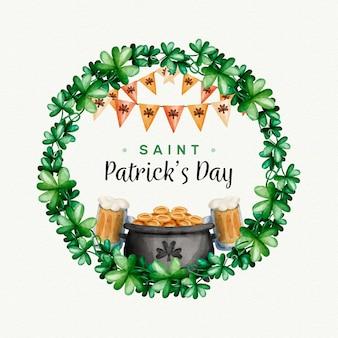 День святого патрика с пивом