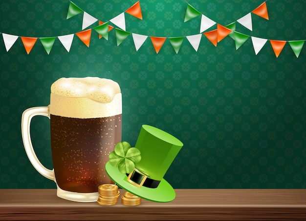 Saint patrick's holiday background