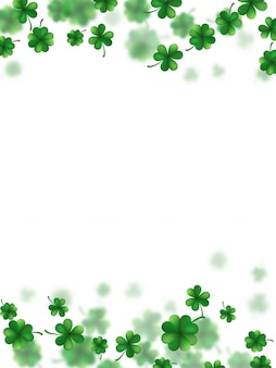 Saint patricks day frame.
