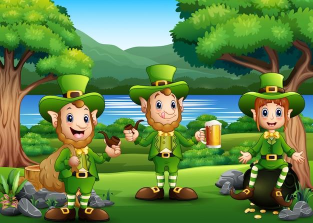 聖パトリックデーレプラコーンは、自然を祝います