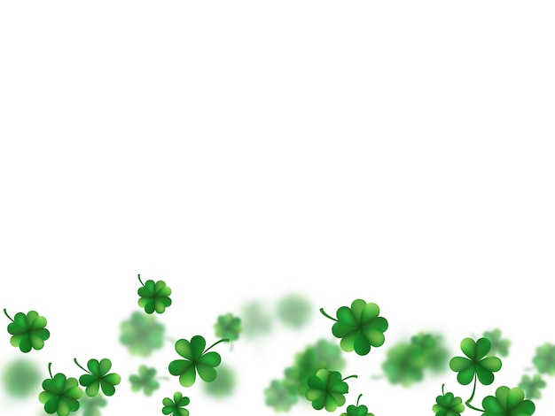 Saint patricks day template.