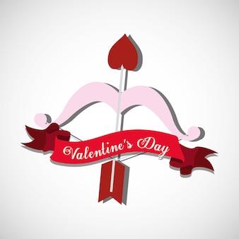 Saint valentines day design