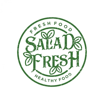 Salad fresh logo