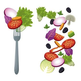 Меню овощных салатов