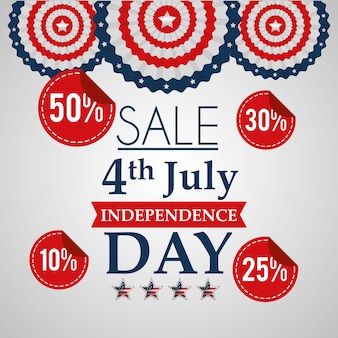 Sale 4 july american independence day