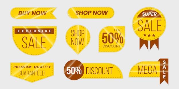 판매 및 제공 레이블 컬렉션