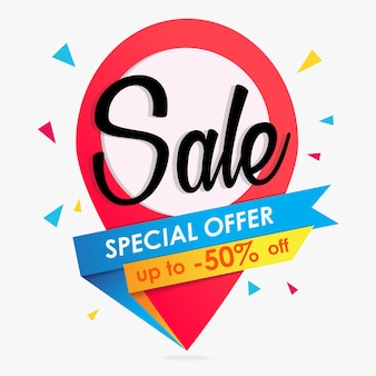 Sale background or banners graphic
