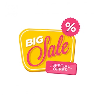Sale banner discount icon