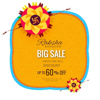 Sale banner or poster for indian festival