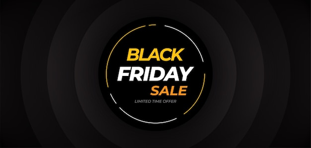 Sale banner template, black friday banner, big sale banner background