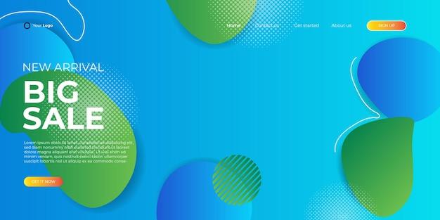 Продажа баннеров дизайн шаблона. новогодняя распродажа скидка баннер шаблон продвижение дизайн для бизнеса, модная распродажа, веб-заголовок