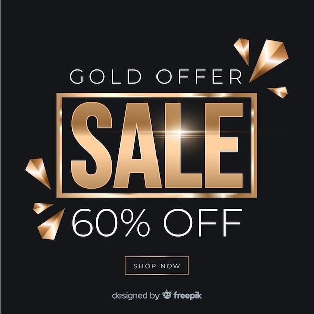 Sale banner template, mega deal discount offer