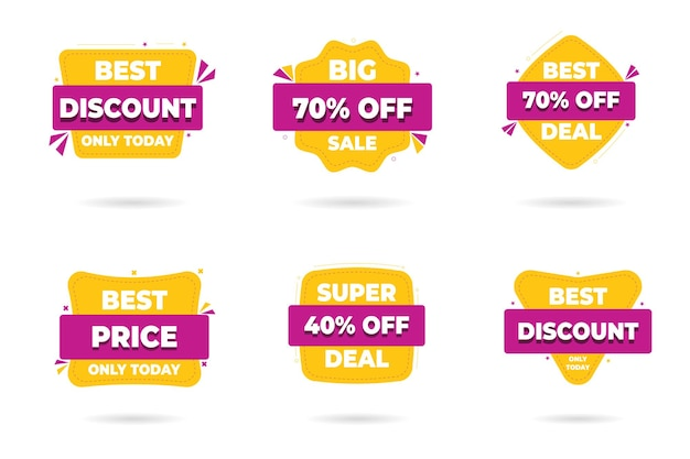 Sale banner templates design.