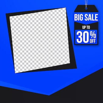 Sale banner web social media instagram