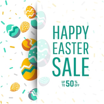 Sale banner with place for text.