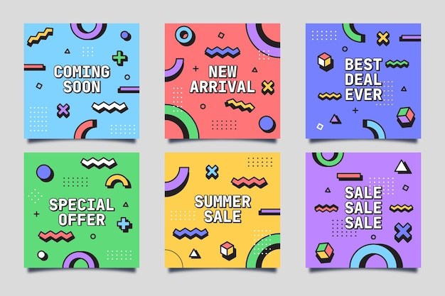 Sale card collection