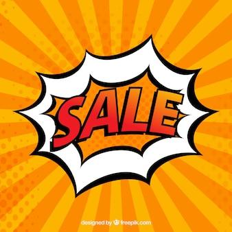 Sale comic cartoon