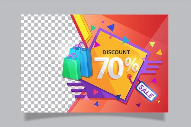 Sale discount banner