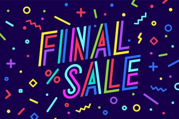 판매, 할인. 인사말 카드, 배너, 포스터 및 문자 입력 체계, 텍스트 포함
