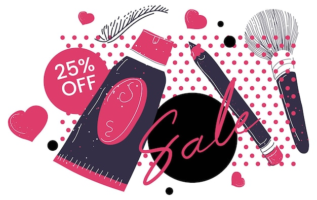 Sale and discounts cosmetics products clearance