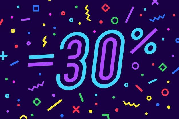 판매. 할인, 판매. , 전단지 및 텍스트와 기하학적 스타일에서 배너의 집합입니다. 스티커, 판매, 할인 웹 배너. 삽화