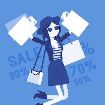 幸せな女の子のための販売