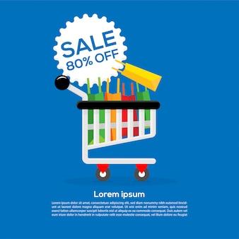 Sale graphic design