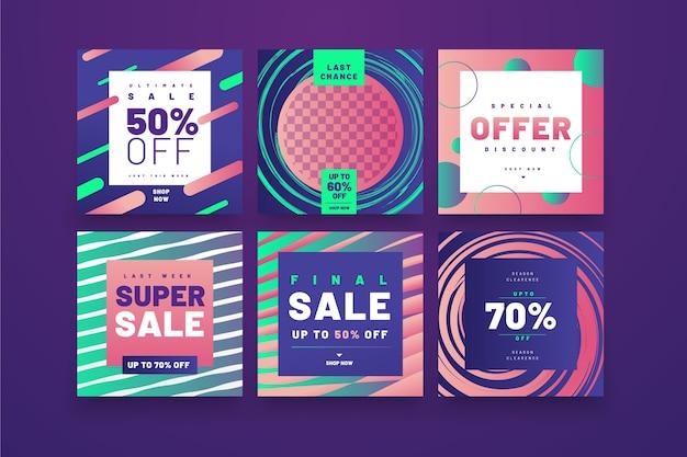 Продажа инстаграм пост коллекция