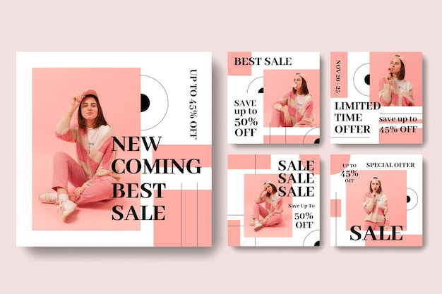 Sale instagram stories collection