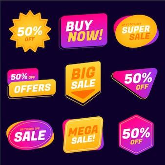 판매 레이블 컬렉션