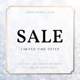 Sale limited time offer